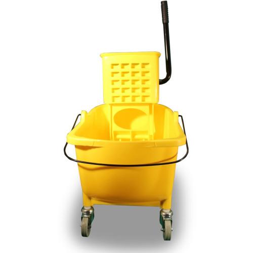 Genuine Joe 35 QT Side Press Mop Bucket Wringer Combo (02347)