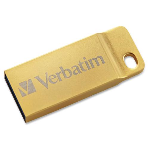 Verbatim 32GB Metal Executive USB 3.0 Flash Drive - Gold (99105)