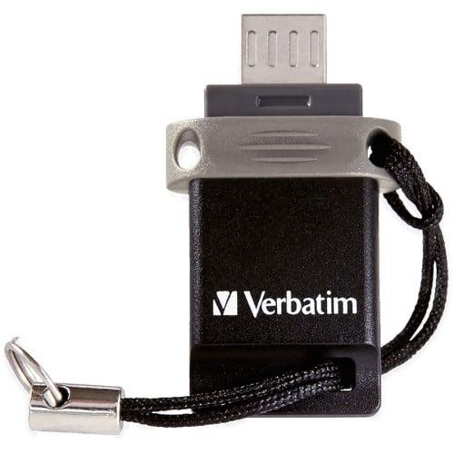 Verbatim 64GB Store 'n' Go Dual USB Flash Drive for OTG Devices (99140)