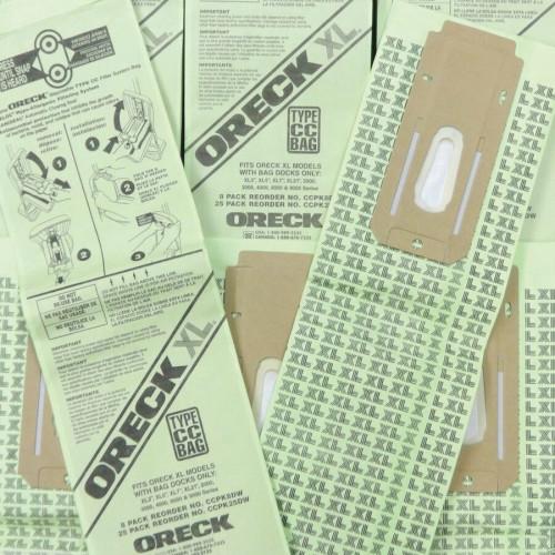 Oreck XL Upright Advance Hypoallergenic Filtratn Bags (PK80009DW)