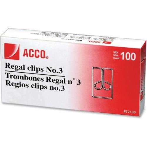 Acco Regal Clips (72152)