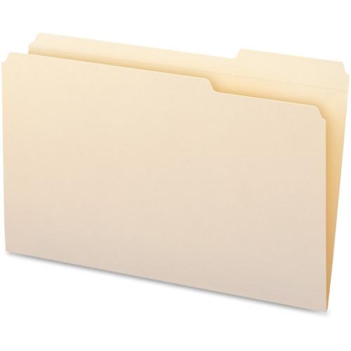 Business Source 1/3-cut Tab Legal Manila File Folders (99723)