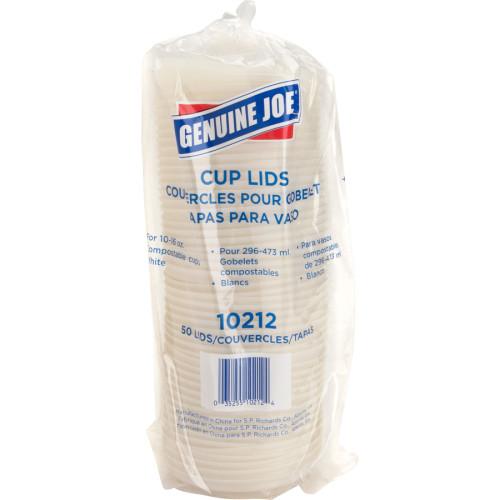 Genuine Joe Vented Hot Cup Lid (10212CT)