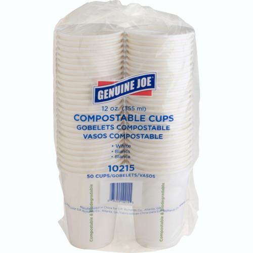 Genuine Joe Eco-friendly Paper Cups (10215CT)