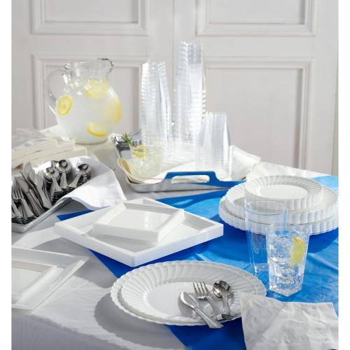 Genuine Joe Plastic Rectangular Table Covers (10325CT)