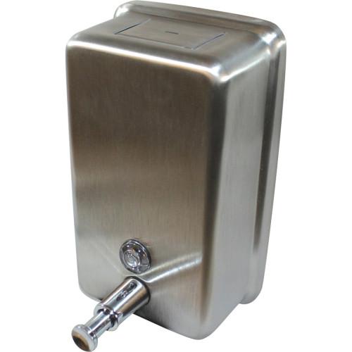 Genuine Joe Stainless Vertical Soap Dispenser (85134CT)