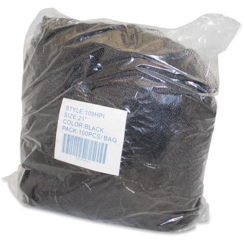 Genuine Joe Black Nylon Hair Net (85135CT)