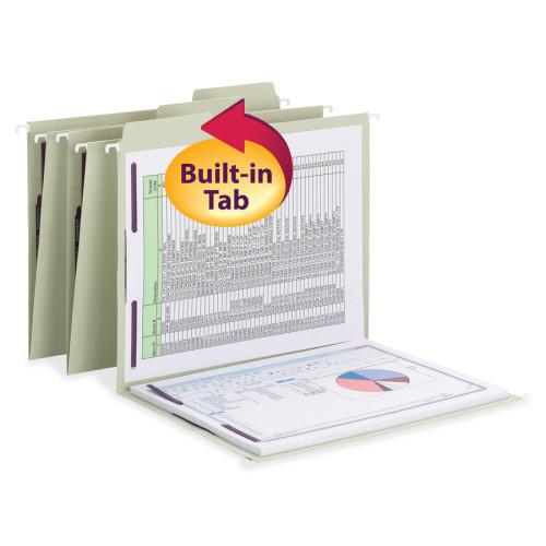 Smead FasTab Hanging Fastener Folders (65120)