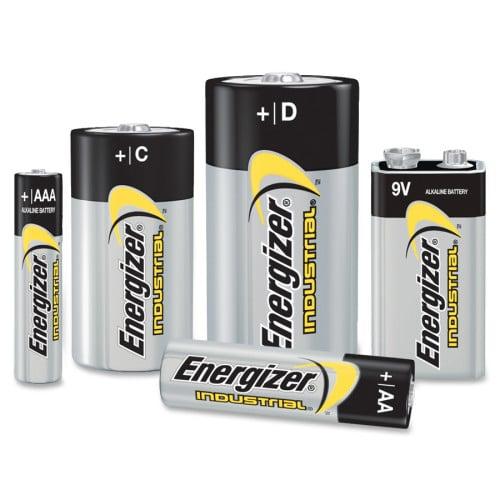 Energizer Industrial Alkaline 9V Battery (EN22CT)