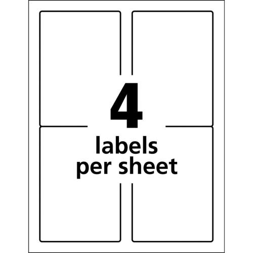Avery TrueBlock ID Label (61532)