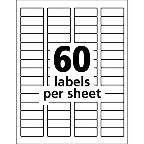 Avery TrueBlock ID Label (61533)