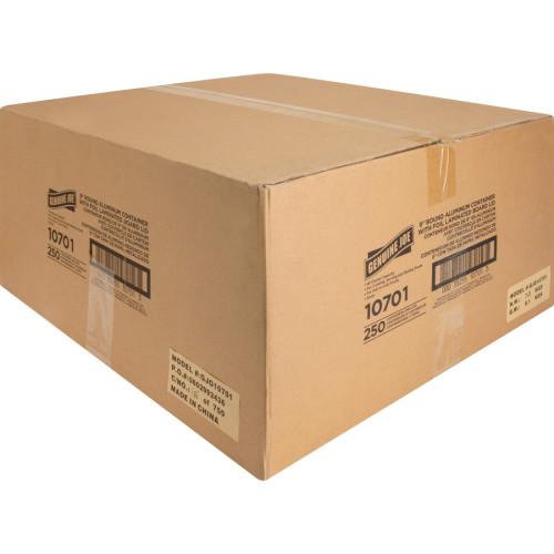 Genuine Joe Round Aluminum Food Container Set (10701)