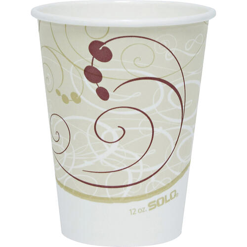 Solo Cup Single-sided Poly Hot Cups (412SMJ8000CT)