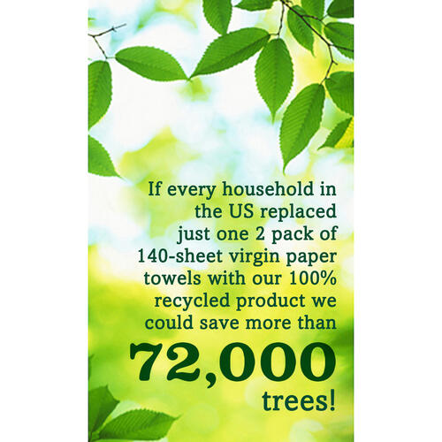 Seventh Generation 100% Recycled Paper Towels (13737CT)