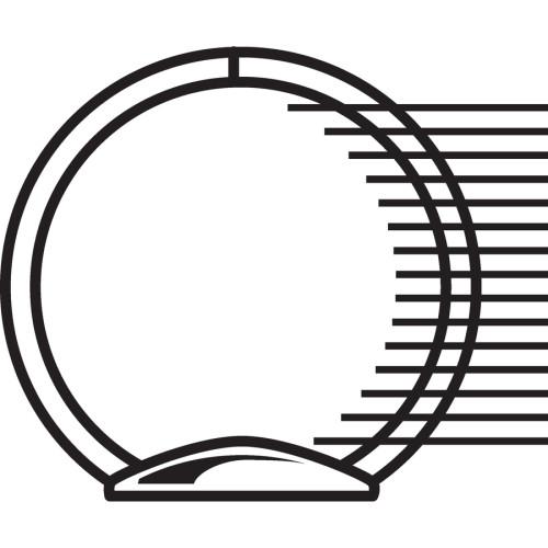 Samsill Economy Round-Ring View Binder (18581)