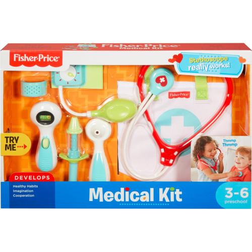 Fisher-Price - Plastic Play Medical Kit (DVH14)
