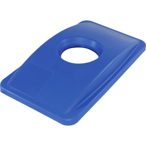 Genuine Joe 23-Gal Recycling Bin Round Cutout Lid (98219)