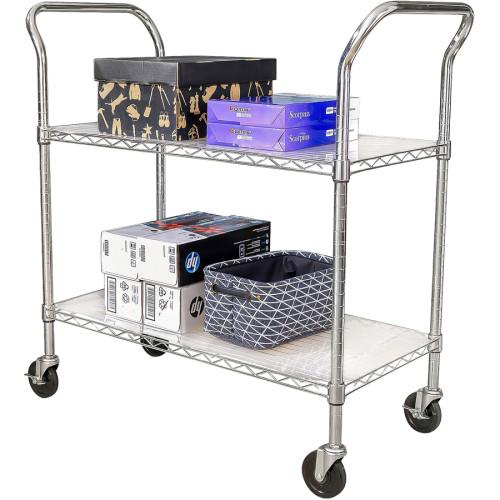 Lorell Light Duty Mobile Cart (45656)