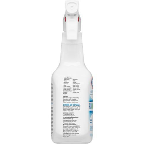 Clorox Healthcare Fuzion Cleaner Disinfectant (31478CT)
