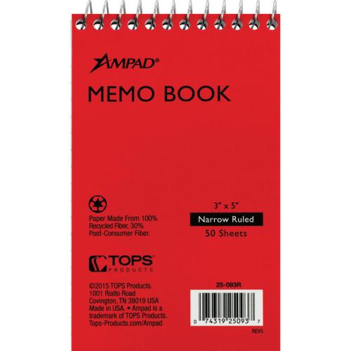 Ampad Memo Book (25093BD)