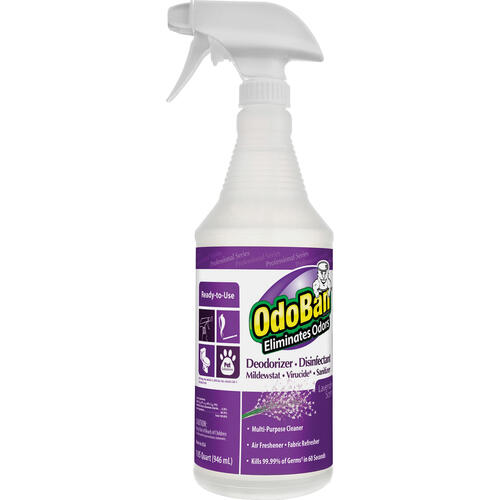 OdoBan Lavender Deodorizer Disinfectant Spray (910162QC12CT)