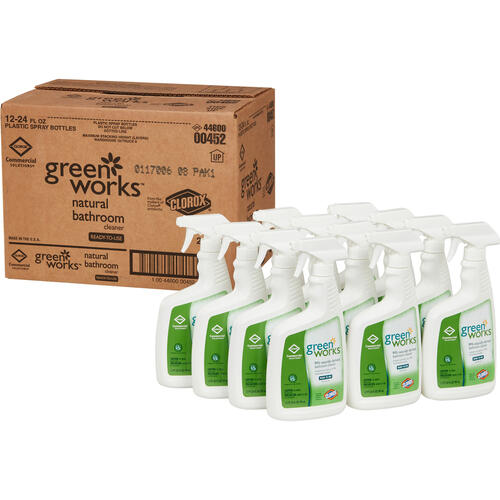 Clorox Commercial Solutions Green Works Bathroom Cleaner (00452BD)