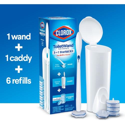 Clorox ToiletWand Disposable Toilet Clean System (03191BD)