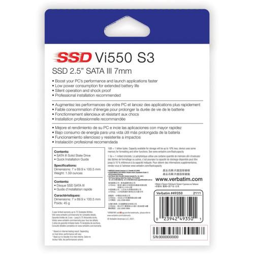 Verbatim 128GB Vi550 SATA III 2.5