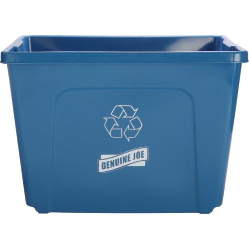 Genuine Joe 14-Gallon Recycling Bin (11582CT)