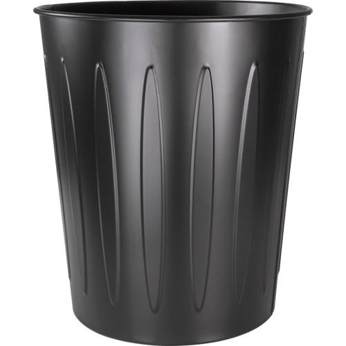 Genuine Joe 6-gallon Steel Fire-safe Trash Can (58897CT)