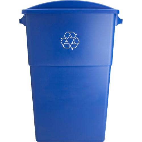 Genuine Joe 23-gallon Recycling Bin Round Cutout Lid (98219CT)