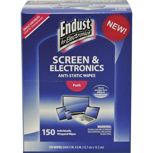 Endust Screen/Electronics Clean Wipes (14316)