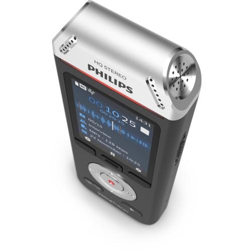 Philips Voice Tracer DVT2110 Digital Recorder 8 GB, Black/Silver