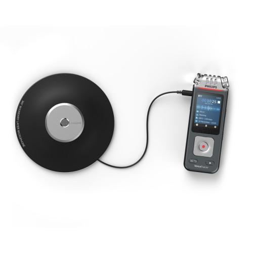 Philips Voice Tracer 8110 Digital Recorder, 8 GB, Black (DVT8110)