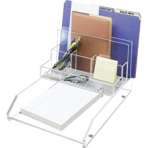 Kantek Acrylic File Sorter Desk Organizer (AD245)