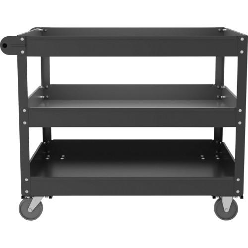 Lorell 3-shelf Utility Cart (00028)