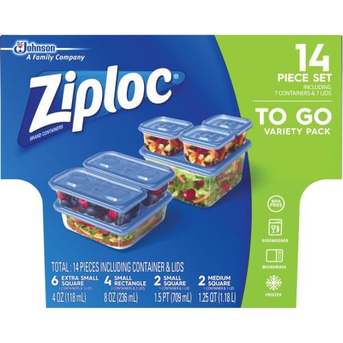Ziploc Food Storage Container Set (650872CT)