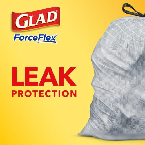Glad ForceFlex Tall Kitchen Drawstring Trash Bags (78563)