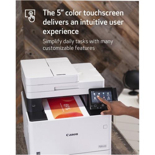 Canon imageCLASS MF740 MF743Cdw Laser Multifunction Printer - Color (ICMF743CDW)