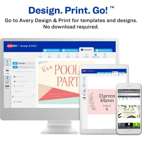Avery Laser Printable Multipurpose Card (35703)