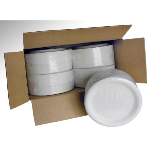 AJM Coated Paper Dinnerware Plates (CP9AJCWWH1)