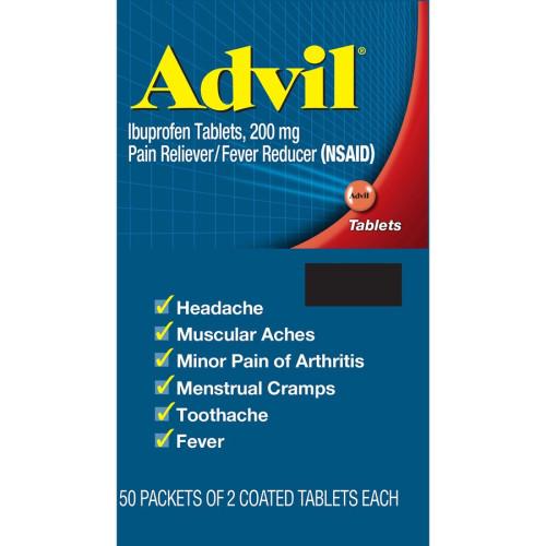 GlaxoSmithKline Advil Coated Tablets