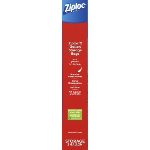 Ziploc 2-gallon Storage Bags (664531)