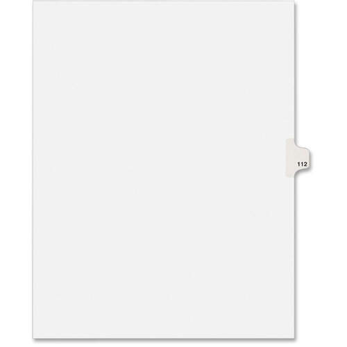 Avery Individual Legal Exhibit Dividers - Avery Style (1112) (01112)