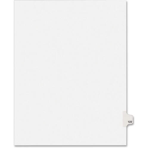 Avery Individual Legal Exhibit Dividers - Avery Style (1122) (01122)