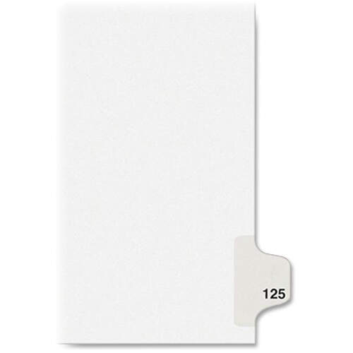 Avery Individual Legal Exhibit Dividers - Avery Style (1125) (01125)