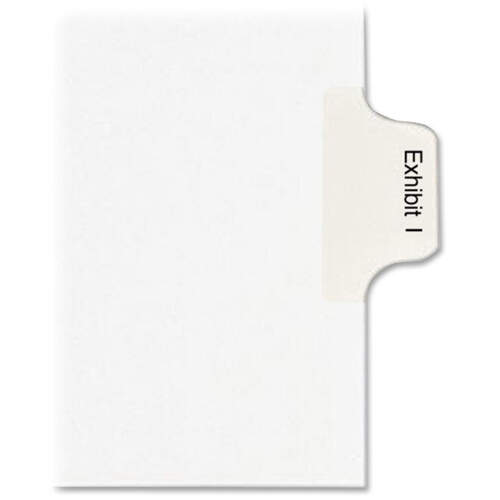 Avery Individual Legal Dividers - Allstate Style - Unpunched (82115)