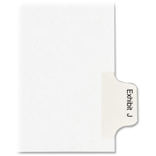 Avery Individual Legal Dividers - Allstate Style - Unpunched (82116)