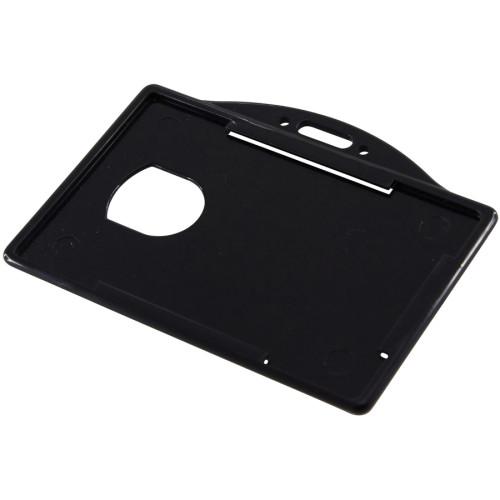 SICURIX Horizontal Black Frame ID Card Holder (68310)