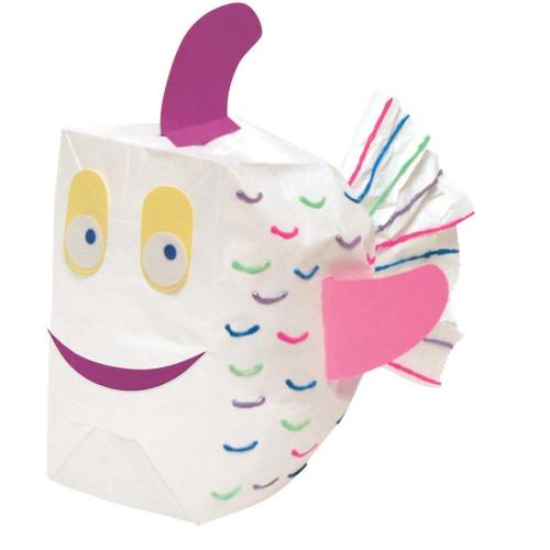 Rainbow Kraft Bag (72020)